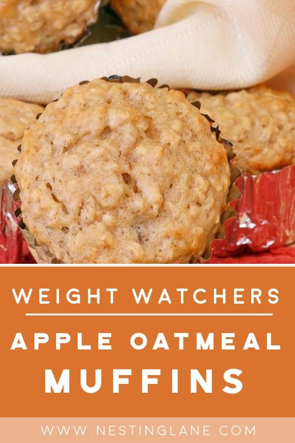 Weight Watchers Apple Oatmeal Muffins