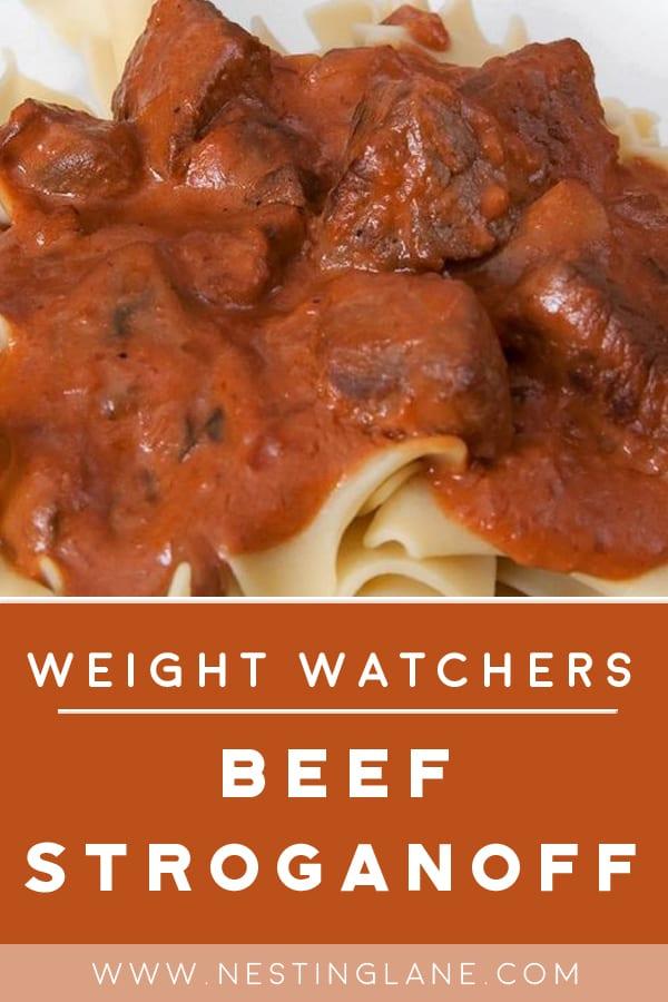 Weight Watchers Beef Stroganoff