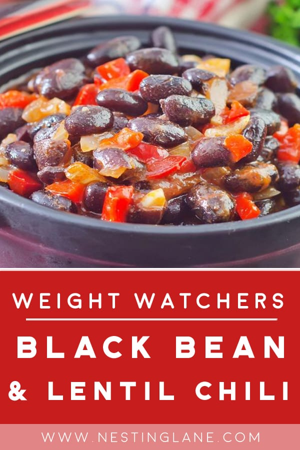 Weight Watchers Black Bean and Lentil Chili