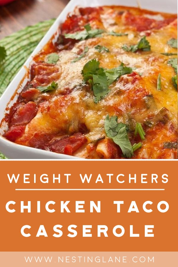 Weight Watchers Chicken Taco Casserole