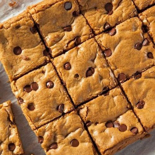 Weight Watchers Chocolate Chip Blondies