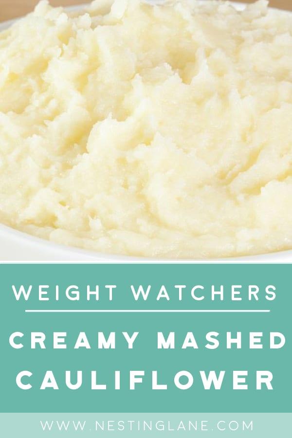 Weight Watchers Mashed Cauliflower