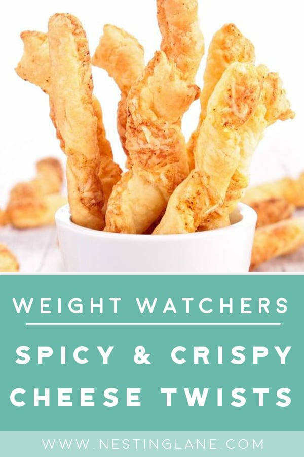 Weight Watchers Crispy and Spicy Cheese Twists