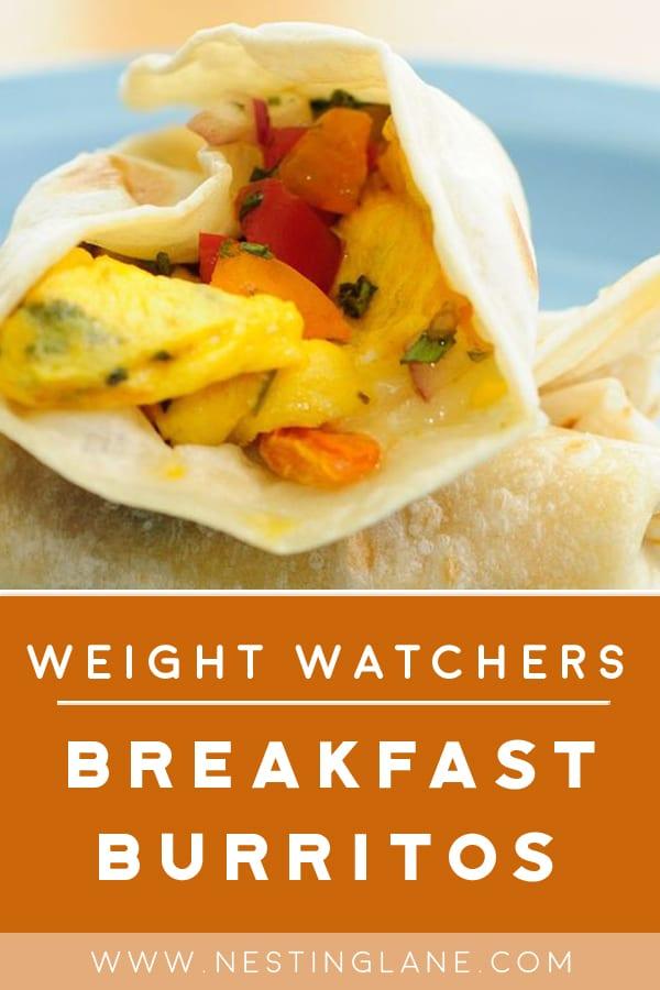 Weight Watchers Meatless Breakfast Burritos
