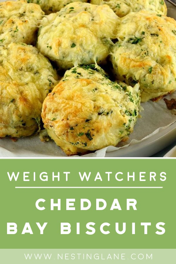 Weight Watchers Copycat Red Lobster Cheddar Bay Biscuits on a plate
