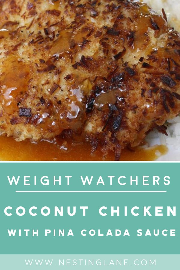 Weight Watchers Coconut and Pineapple Chicken