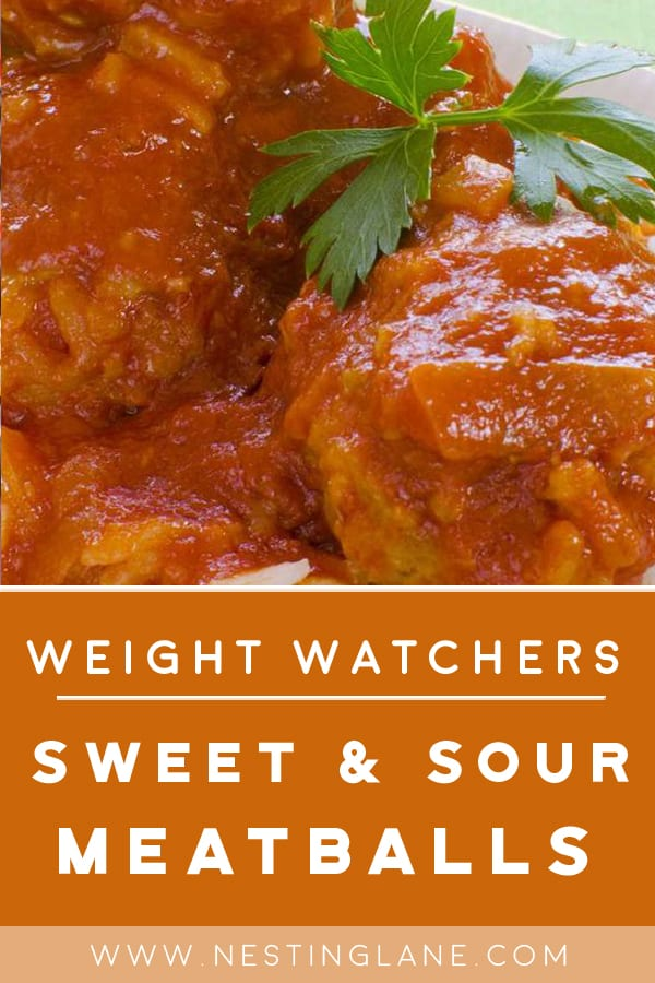 Weight Watchers Sweet & Sour Meatballs