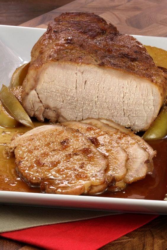 Pork Tenderloin on a platter