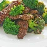 Weight Watchers Beef & Broccoli Stir Fry