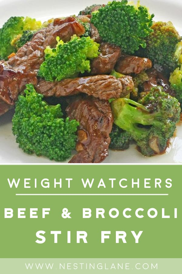 Weight Watchers Beef and Broccoli Stir Fry