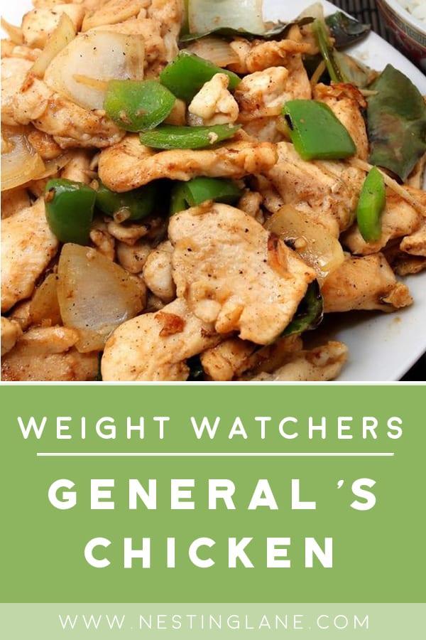 Weight Watchers Spicy Chinese Chicken