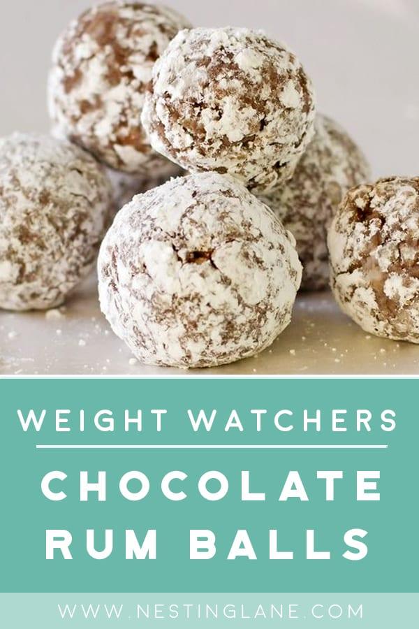 Weight Watchers Chocolate Rum Balls