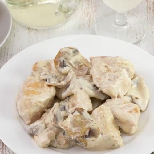 Weight Watchers Slow Cooker Chicken Stroganoff
