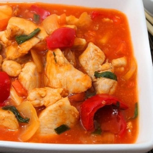 Weight Watchers Slow Cooker Sweet and Sour Chicken