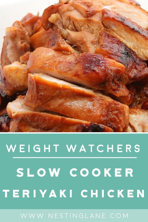 Weight Watchers Slow Cooker Teriyaki Chicken