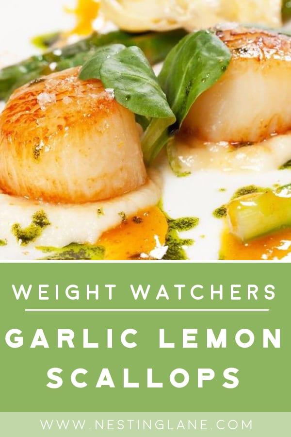 Weight Watchers Garlic Lemon Scallops