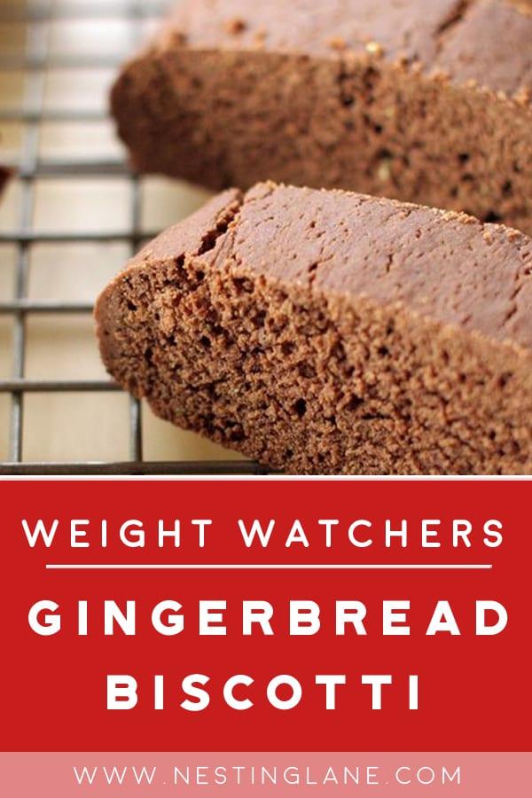 Weight Watchers Gingerbread Biscotti Recipe