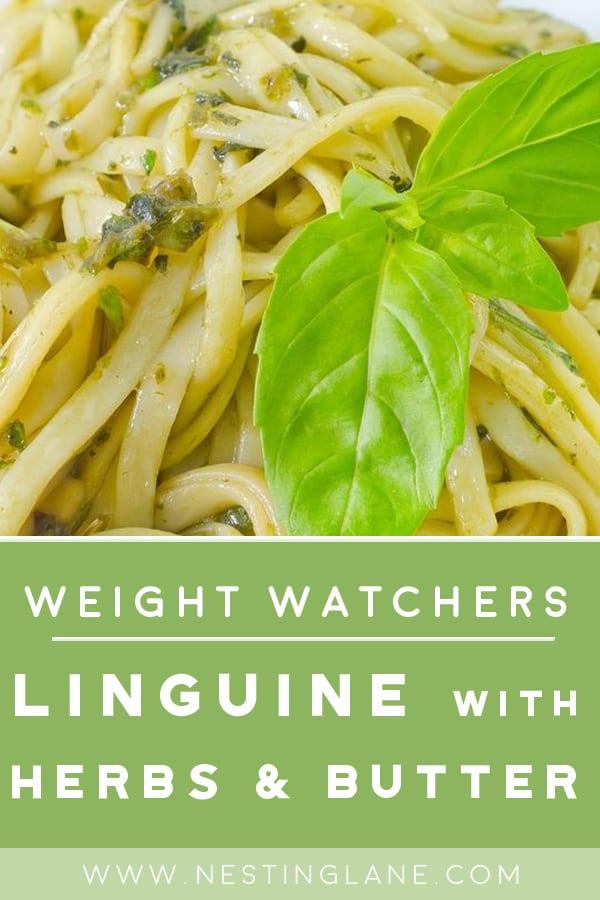 Weight Watchers Pasta with Garlic Sauce Recipe