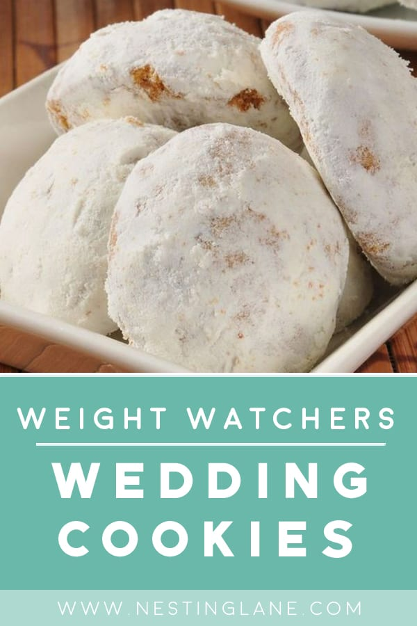 Weight Watchers Mexican Wedding Cookies in a dish