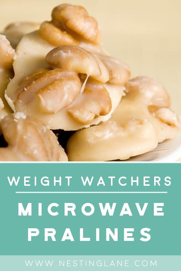 Weight Watchers Quick and Easy Pecan Pralines