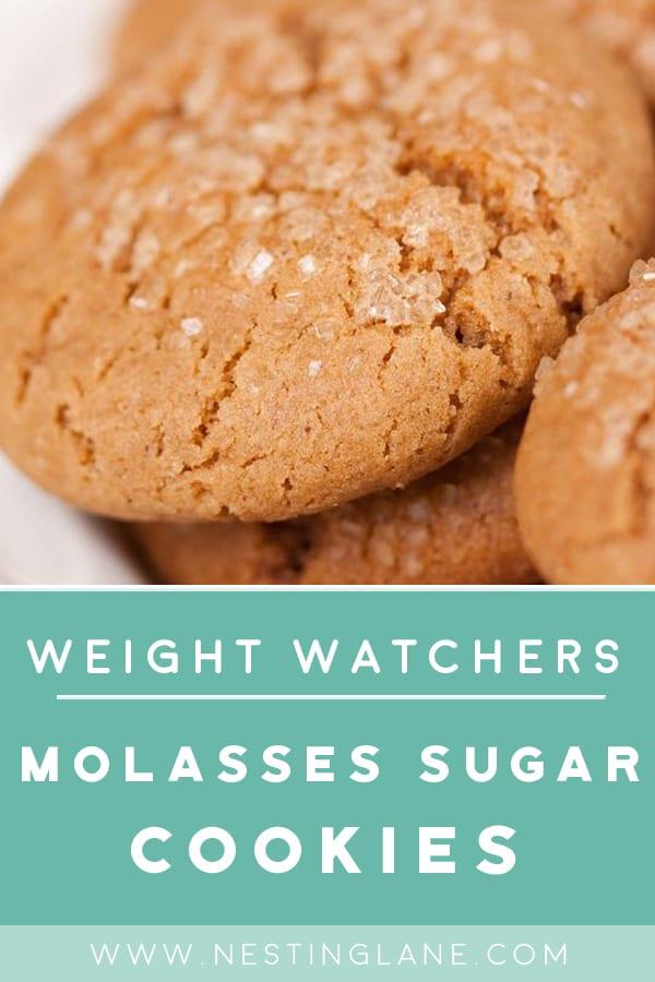 Weight Watchers Molasses Sugar Cookies