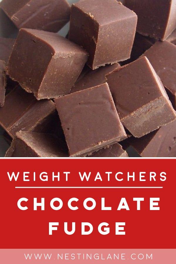 Weight Watchers Old Fashioned Chocolate Fudge