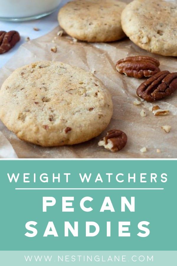 Weight Watchers Pecan Sandies Cookie