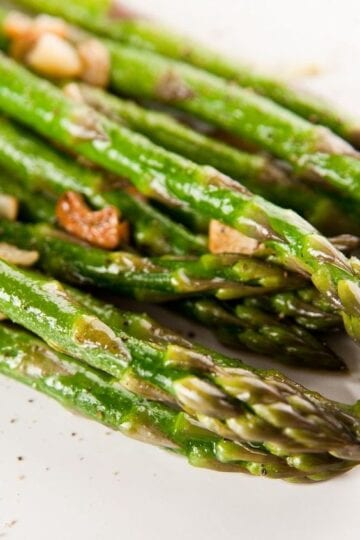 Weight Watchers Garlic Asparagus
