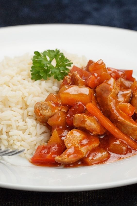 Weight Watchers Sweet and Sour Pork
