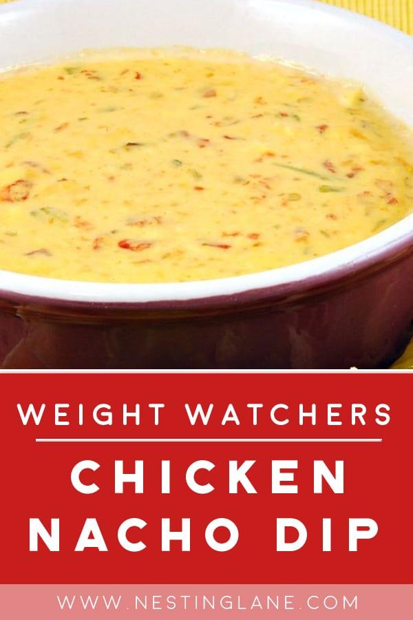 Weight Watchers Slow Cooker Chicken Nacho Dip