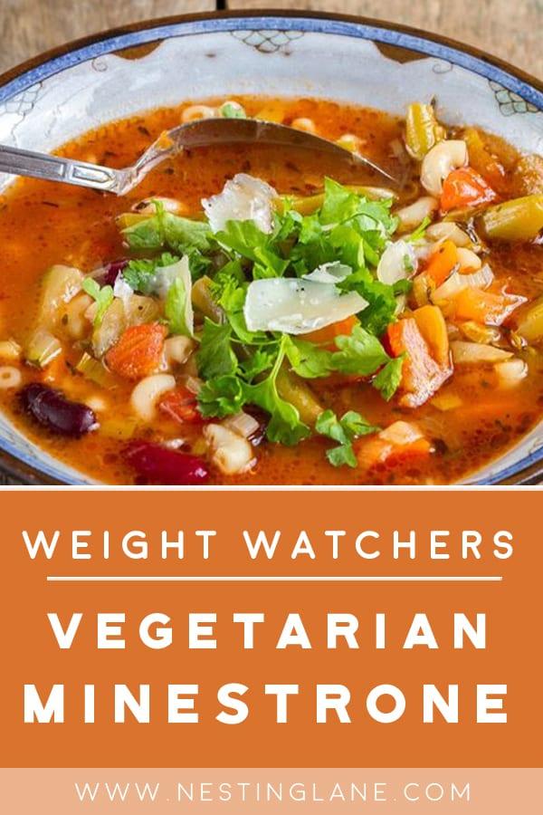 Weight Watchers Vegetarian Minestrone Soup