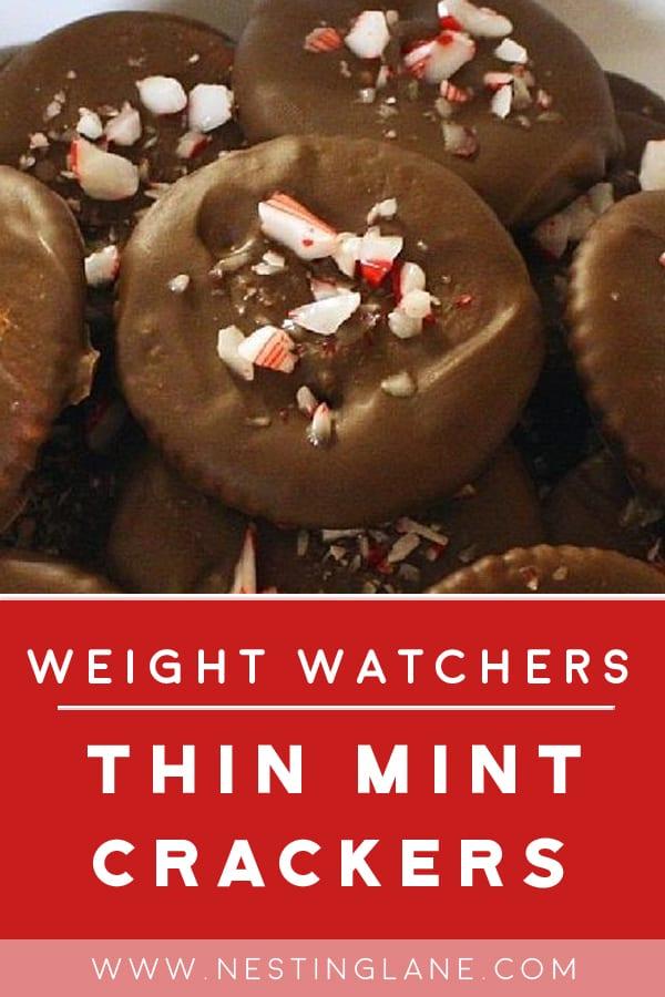 Weight Watchers Thin Mint Crackers