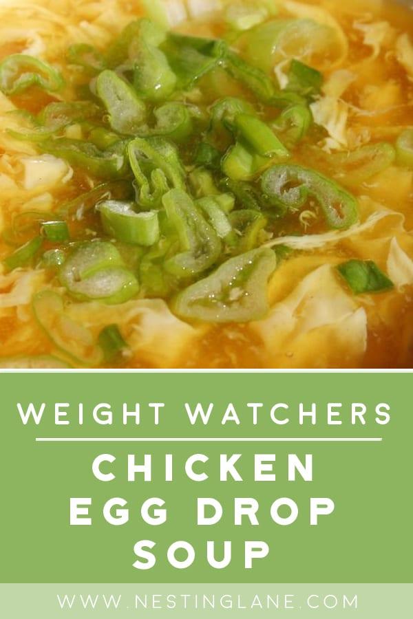 Weight Watchers Chicken Egg Drop Soup