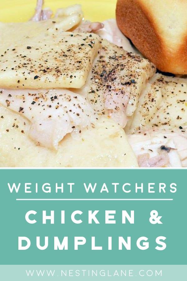 Weight Watchers Chicken and Dumplings