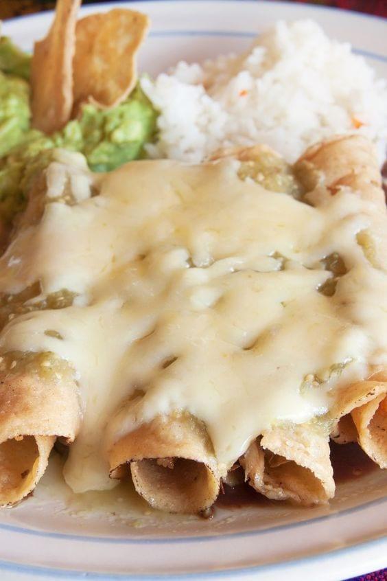 Weight Watchers Mexican Chicken Flautas Recipe