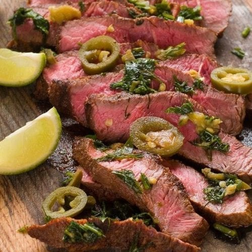 Weight Watchers Grilled Jalapeno Lime Steak