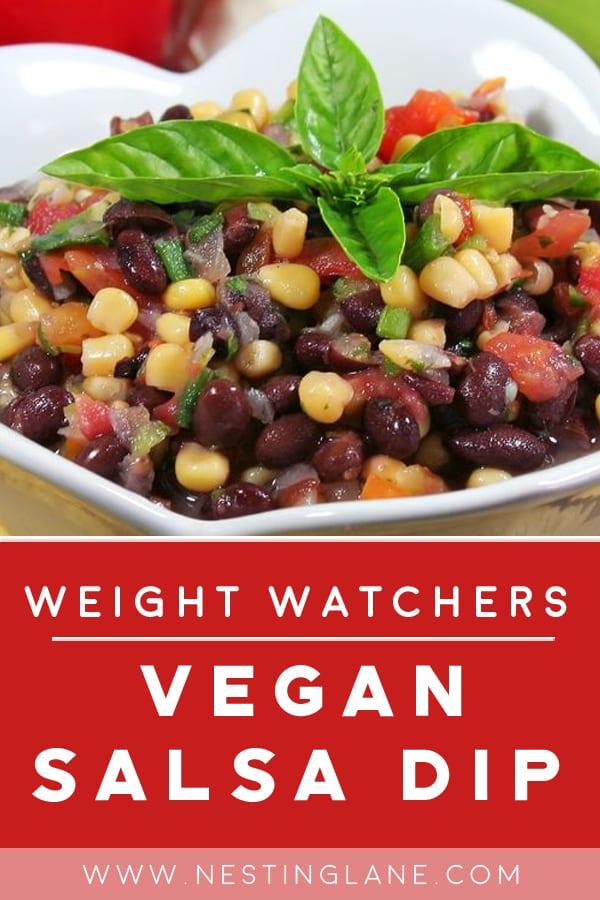Weight Watchers Vegan Salsa Dip