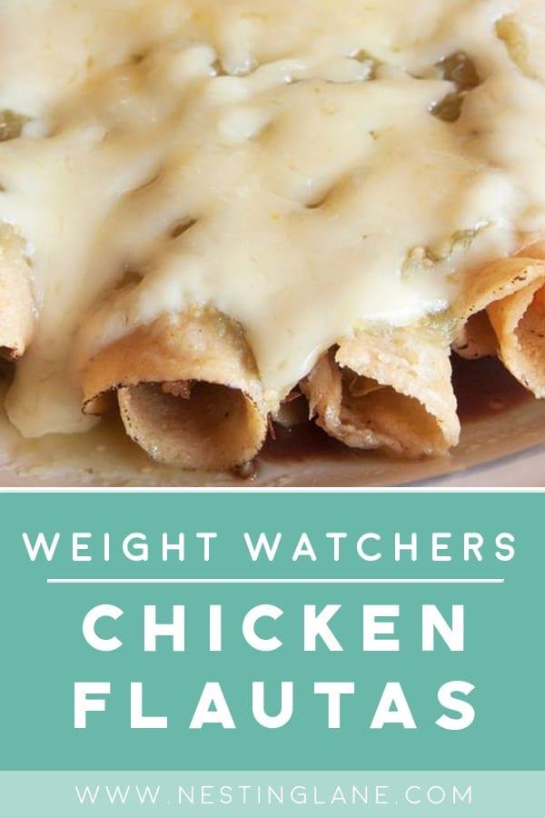 Weight Watchers Chicken Flautas
