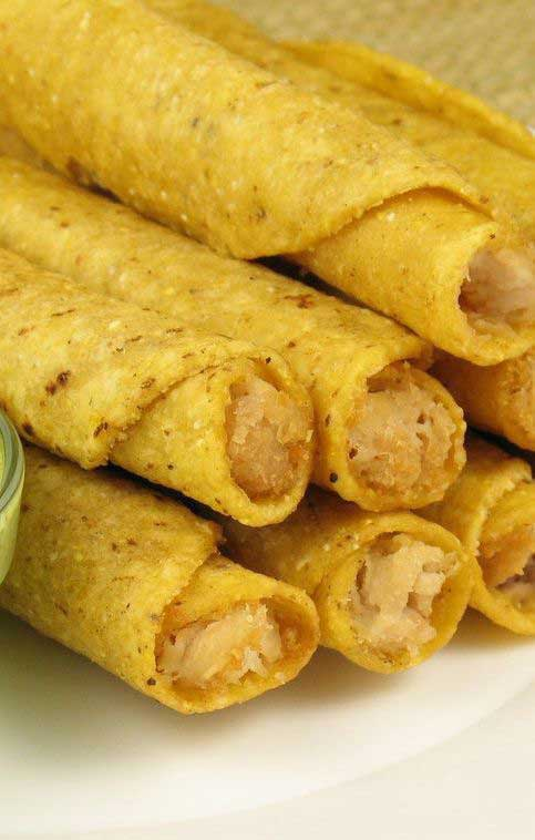 Weight Watchers Chicken and Cheese Taquitos
