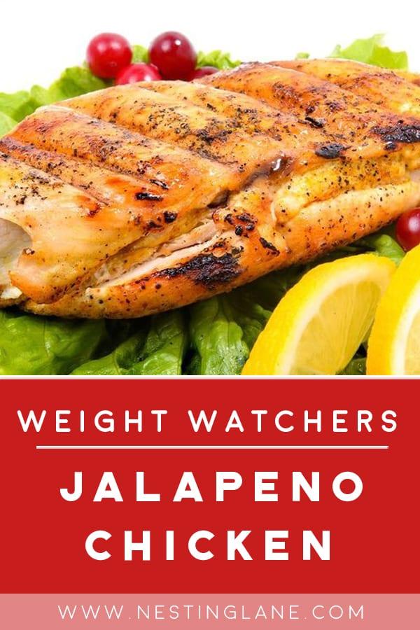 Weight Watchers Jalapeno Chicken