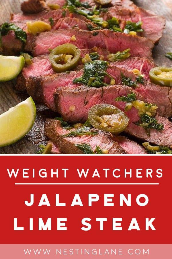 Grilled Jalapeno Lime Steak