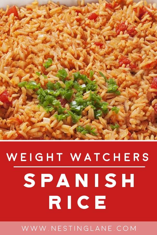 Weight Watchers Spanish Rice
