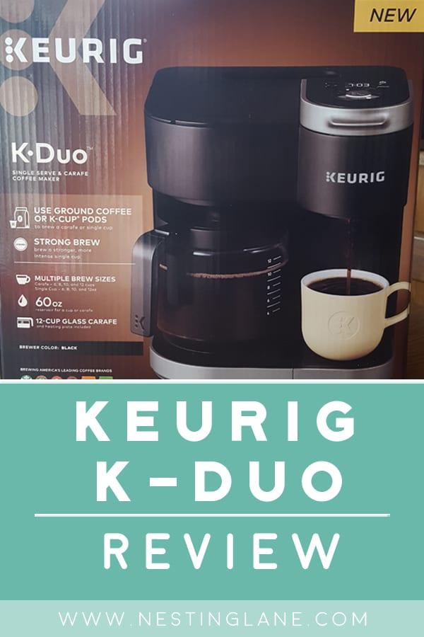 Keurig K-Duo Review Graphic
