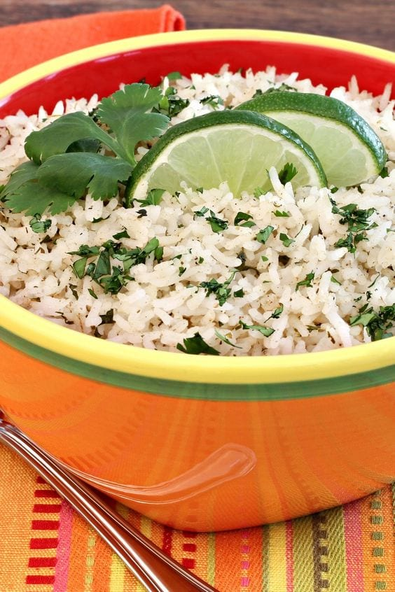 Weight Watchers Cilantro Lime Rice