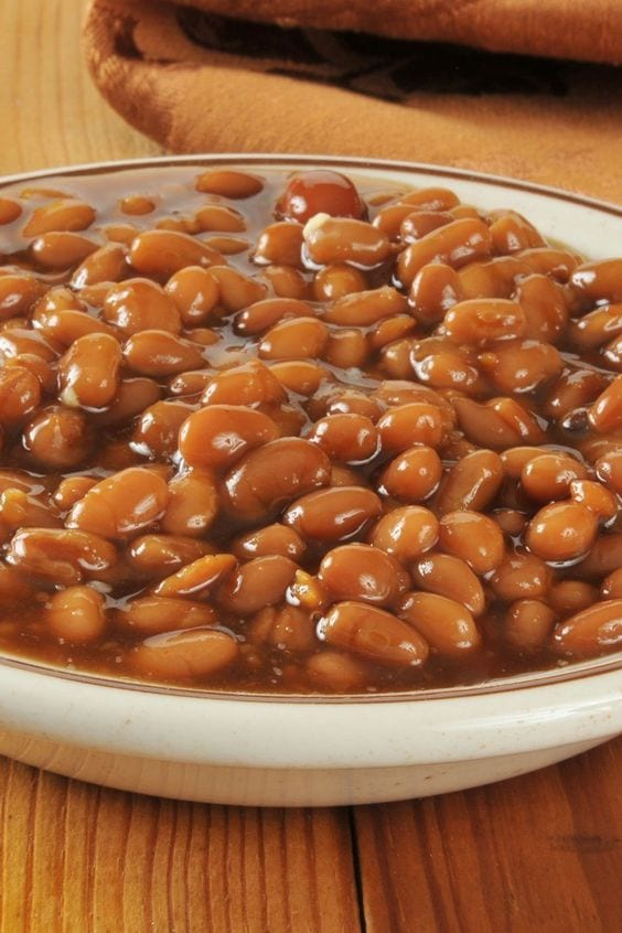 Weight Watchers Molasses Baked Beans