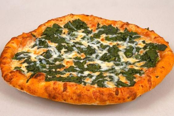 Weight Watchers White Spinach Pizza