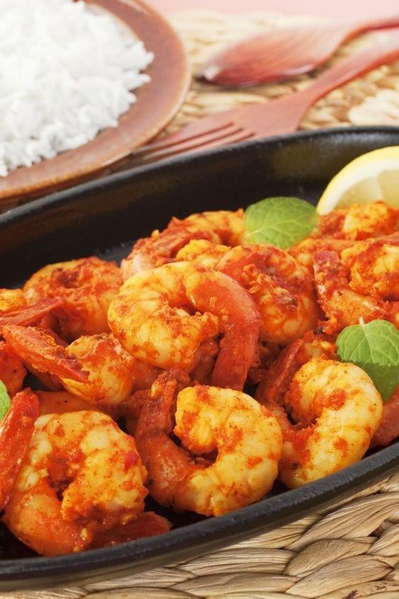 Weight Watchers Szechwan Shrimp