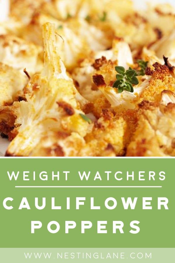 Weight Watchers Cauliflower Poppers