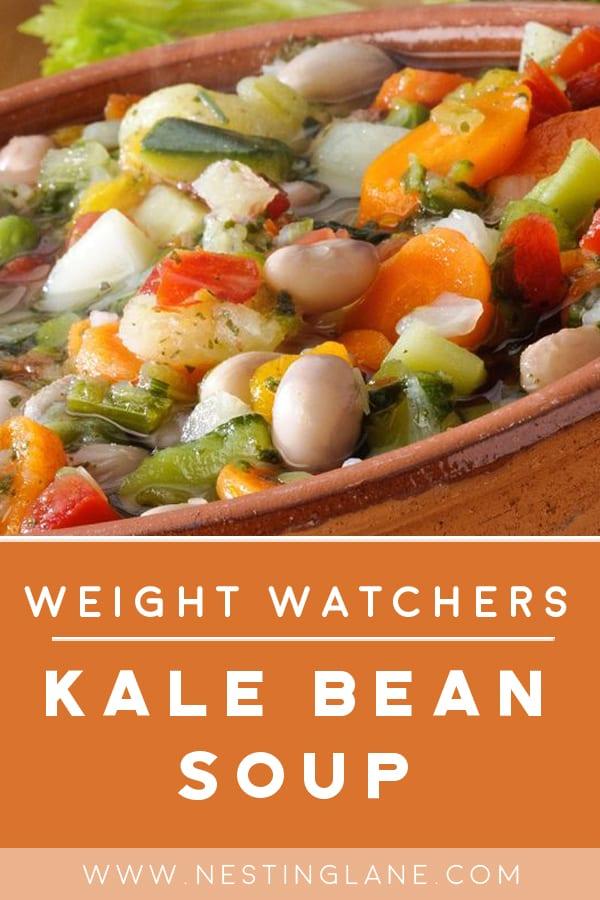 Weight Watchers Vegetarian Kale Bean Soup