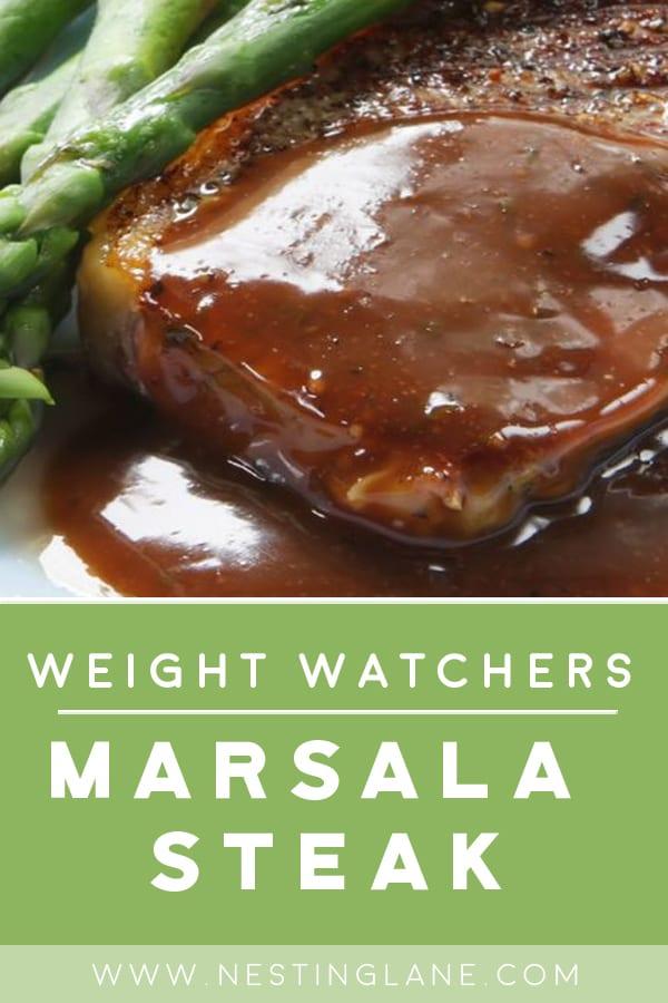 Weight Watchers Italian Marsala Steak